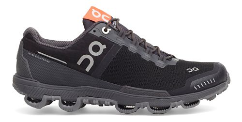 Mens On Cloudventure Waterproof Trail Running Shoe - Black/Dark 12