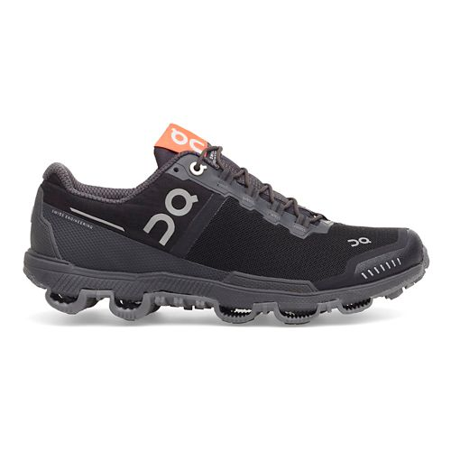 Mens On Cloudventure Waterproof Trail Running Shoe - Black/Dark 7