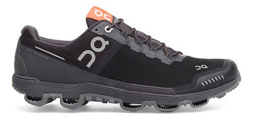 Womens On Cloudventure Waterproof Trail Running Shoe - Black/Dark 6.5