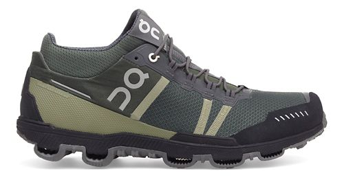 Mens On Cloudventure Midtop Trail Running Shoe - Forest/Grey 12.5