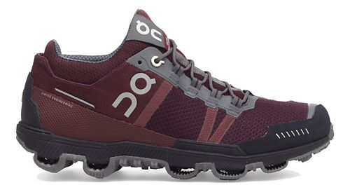 Womens On Cloudventure Midtop Trail Running Shoe - Mulberry/Grey 5