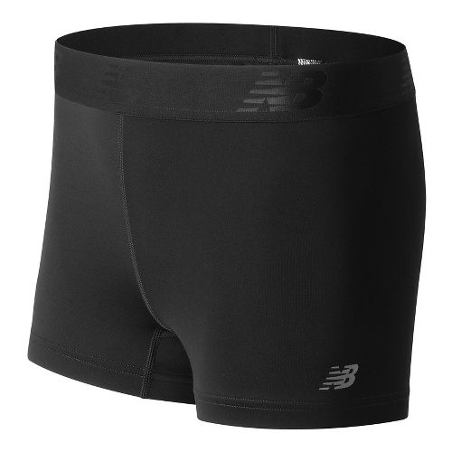 Womens New Balance Accelerate Hot Unlined Shorts - Black L