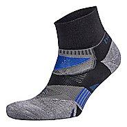 Balega Enduro V-Tech Quarter Socks Socks - Black/Grey M