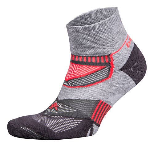 Balega Enduro V-Tech Quarter Socks Socks - Midgrey/Carbon L