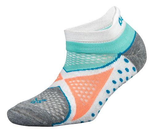 Balega Enduro No Show Socks - White/Aqua S