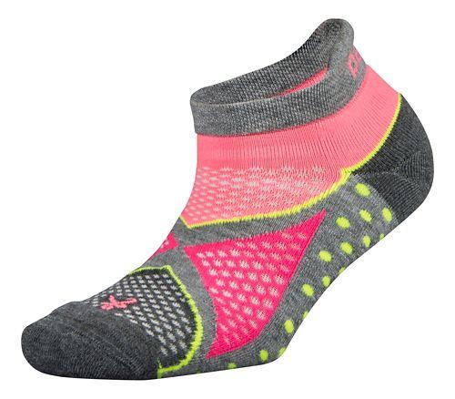 Balega Enduro No Show Socks - Midgrey/Sherbet Pink S