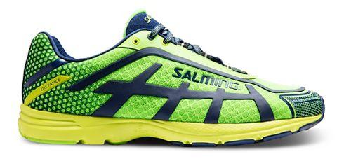 Mens Salming Distance D5 Running Shoe - Green Gecko 12.5