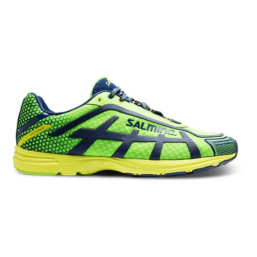 Mens Salming Distance D5 Running Shoe - Green Gecko 10