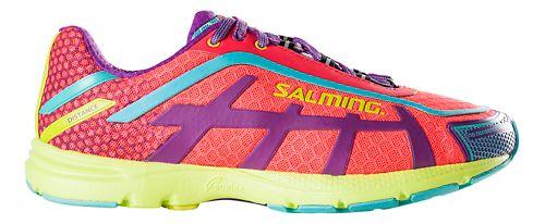 Womens Salming Distance D5 Running Shoe - Diva Pink 6