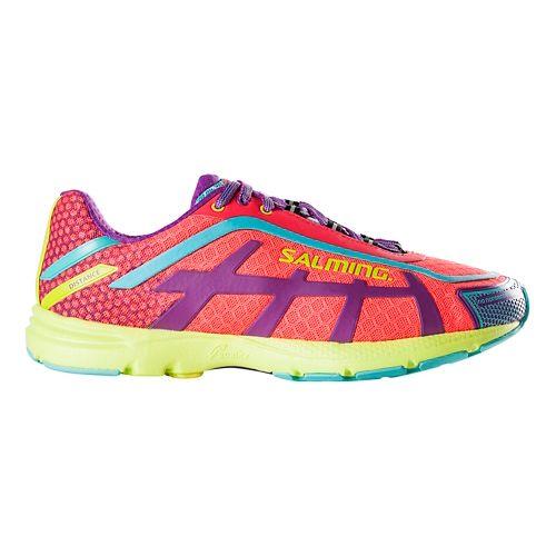 Womens Salming Distance D5 Running Shoe - Diva Pink 10