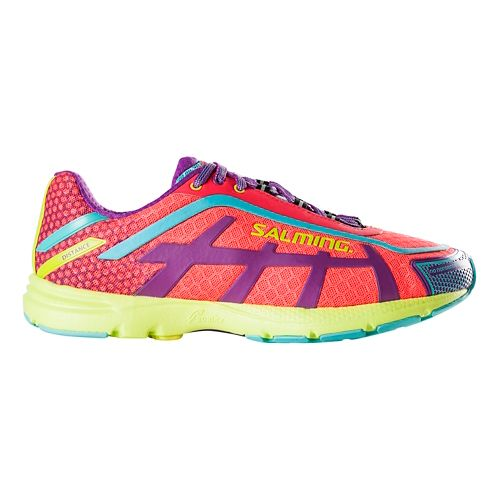 Womens Salming Distance D5 Running Shoe - Diva Pink 6