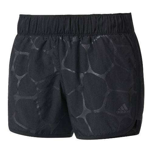 Womens Adidas M10 Energized Boost Lined Shorts - Black M