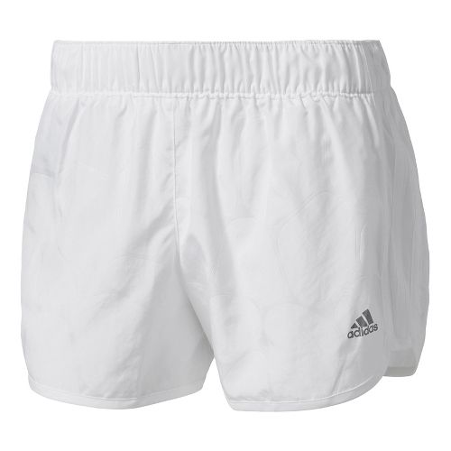 Womens Adidas M10 Energized Boost Lined Shorts - White S