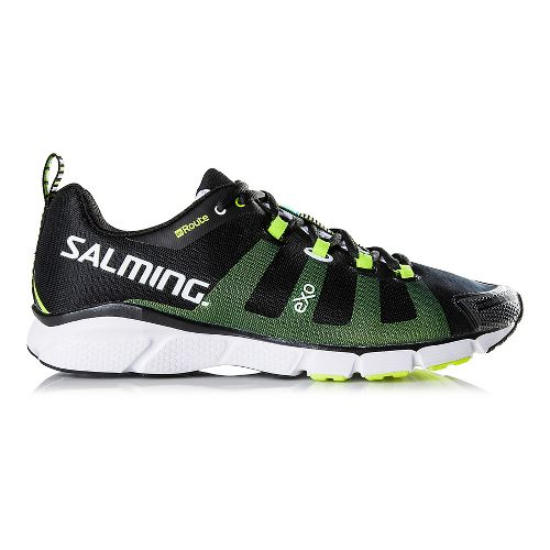 Mens Salming enRoute Running Shoe - Black 10.5