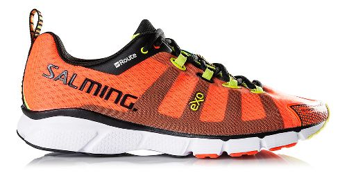 Mens Salming enRoute Running Shoe - Magma Red 9.5