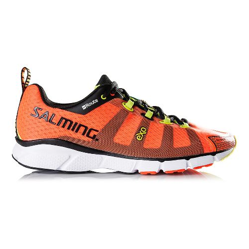 Mens Salming enRoute Running Shoe - Magma Red 10.5