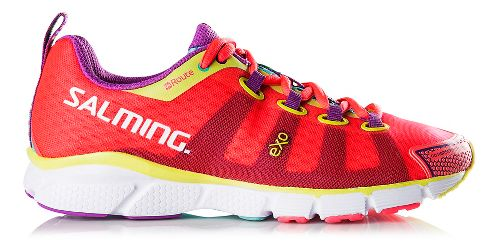 Womens Salming enRoute Running Shoe - Diva Pink 7.5