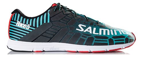Mens Salming Race 5 Running Shoe - Ceramic Green 12.5