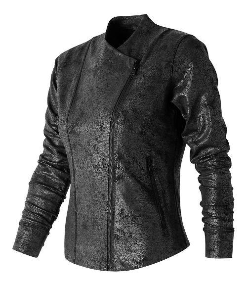 Womens New Balance Bomber Printed Casual Jackets - Cire Print M