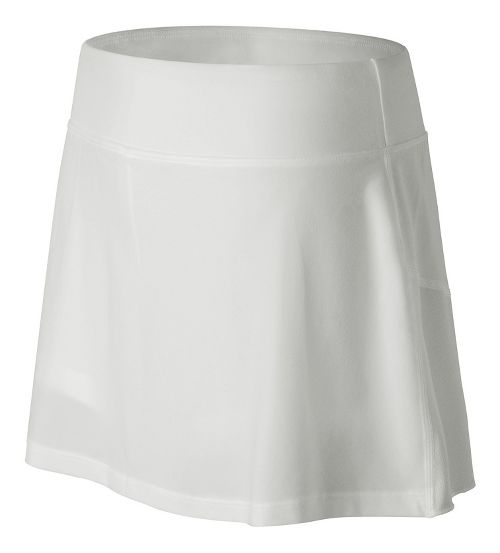 Womens New Balance Casino Skorts Fitness Skirts - White L