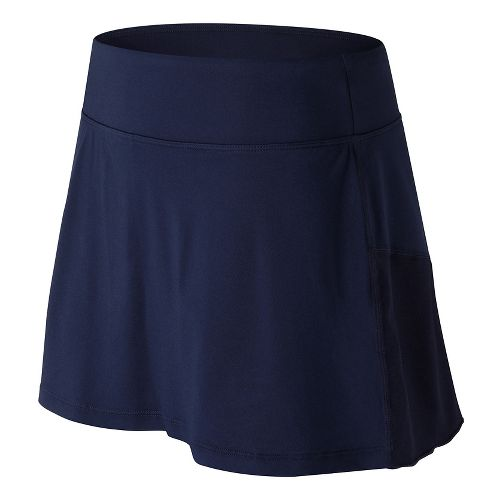 Womens New Balance Casino Skorts Fitness Skirts - Pigment M