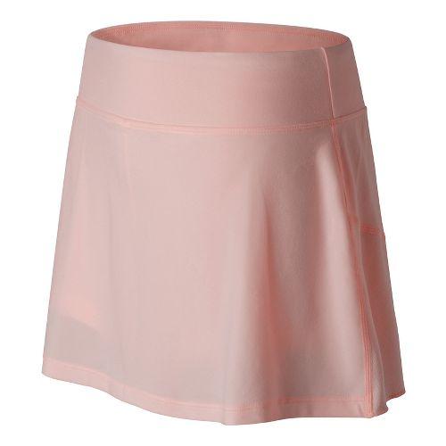 Womens New Balance Casino Skorts Fitness Skirts - Sunrise Glow L