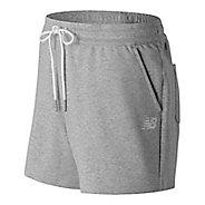 Womens New Balance Classic Fleece Unlined Shorts