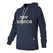 Womens New Balance Classic Pullover Half-Zips & Hoodies Technical Tops
