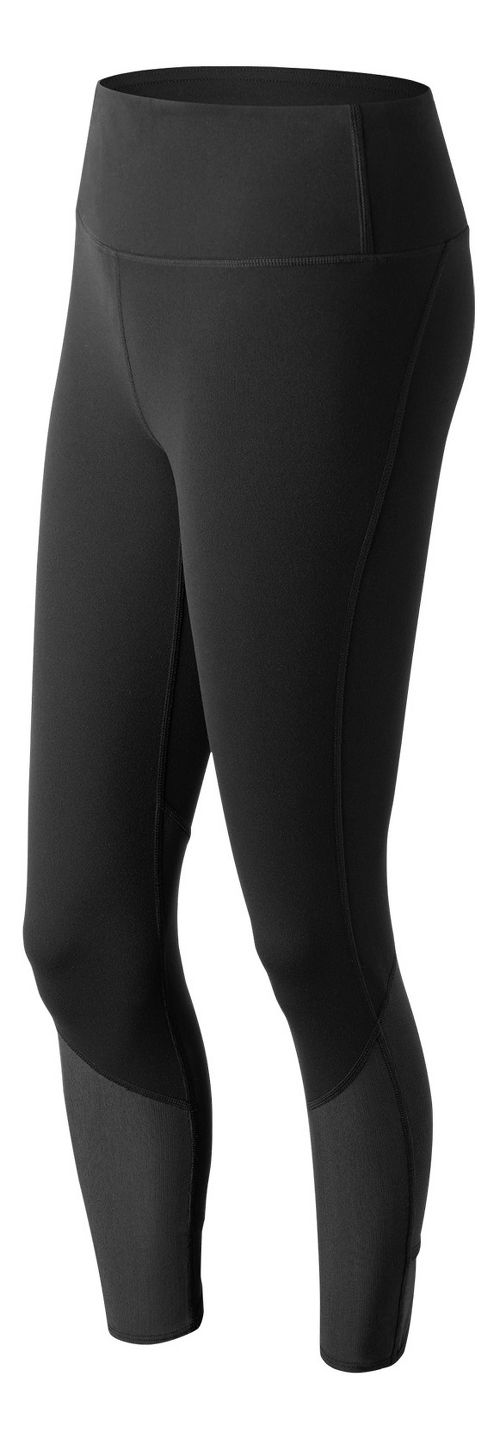 Womens New Balance Elixir Crop Tights - Black L