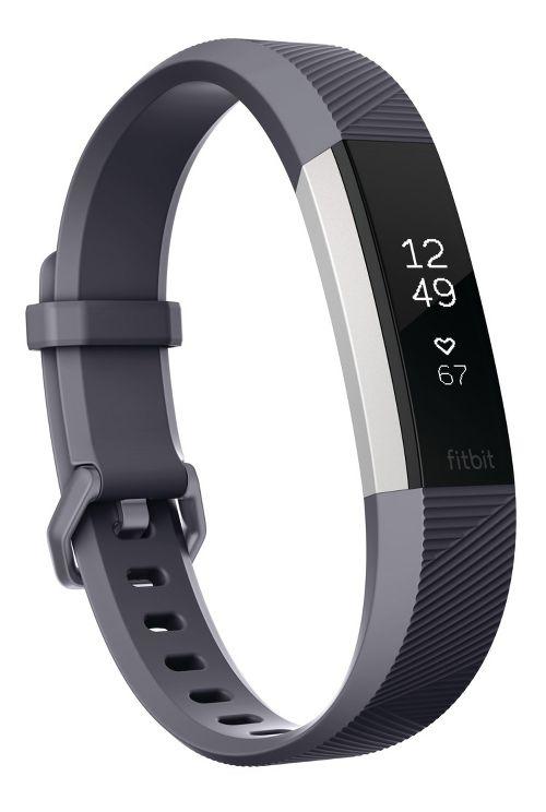 Fitbit Alta HR Fitness Wristband Monitors - Blue Grey L