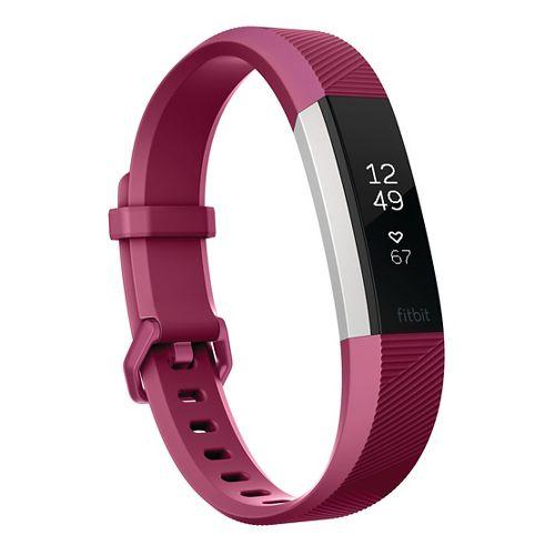 Fitbit Alta HR Fitness Wristband Monitors - Fuchsia L