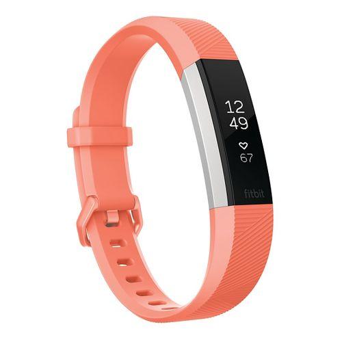 Fitbit Alta HR Fitness Wristband Monitors - Coral L