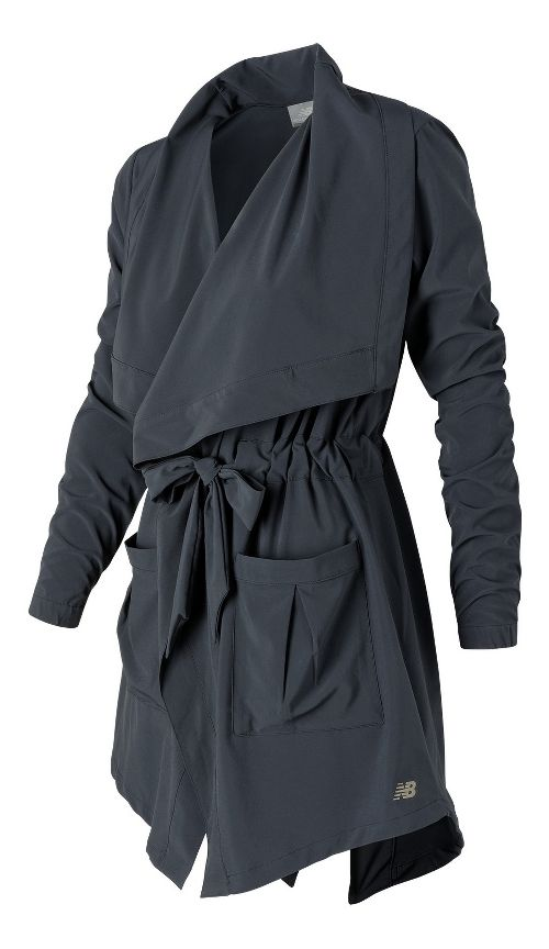 Womens New Balance En Route Running Jackets - Outerspace S