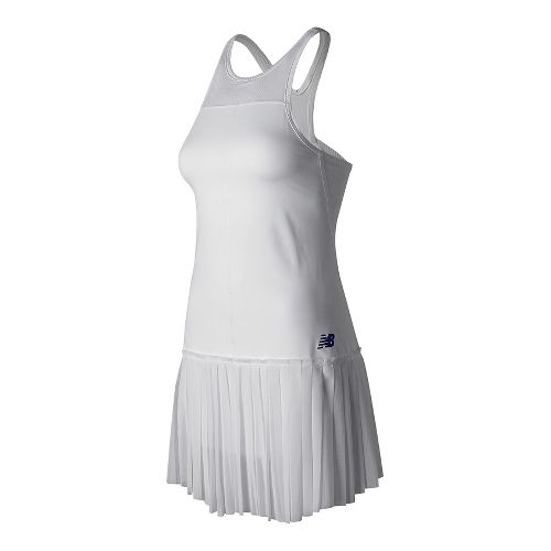 Womens New Balance English Rose Dresses - White M