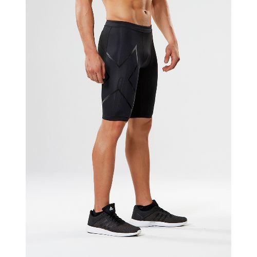Mens 2XU Elite MCS G2 Compression & Fitted Shorts - Black/Nero XL