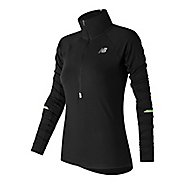 Womens New Balance Impact Half-Zips & Hoodies Technical Tops