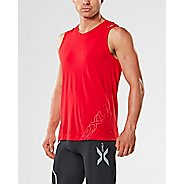 Mens 2XU X-CTRL Muscle Sleeveless & Tank Tops Technical Tops