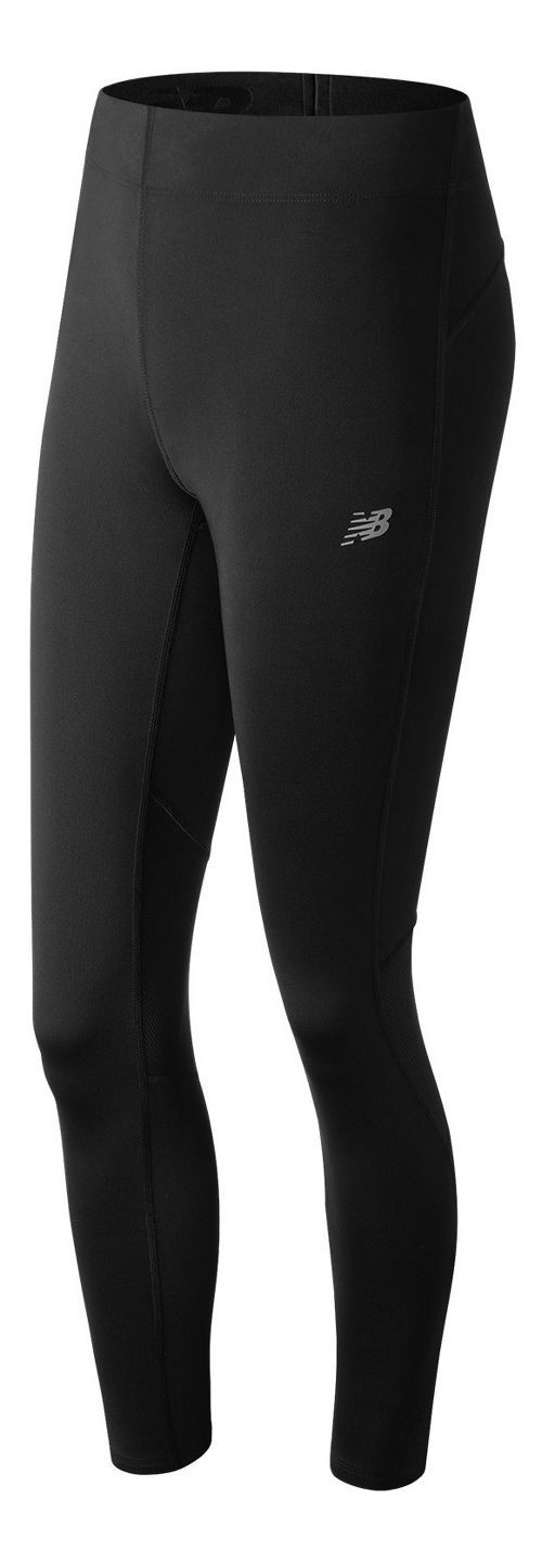 Womens New Balance Impact Tights - Black XS
