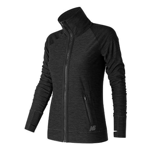 Womens New Balance In Transit Running Jackets - Black M
