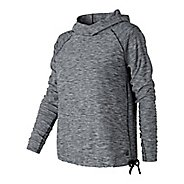 Womens New Balance In Transit Pullover Long Sleeve Technical Tops
