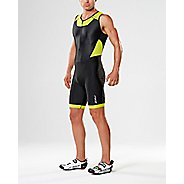Mens 2XU X-VENT Front Zip Triathlon Suits UniSuits