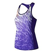 Womens New Balance NB ICE Tank Print Sleeveless & Tank Technical Tops