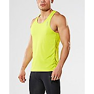 Mens 2XU X-VENT Singlet Sleeveless & Tank Tops Technical Tops