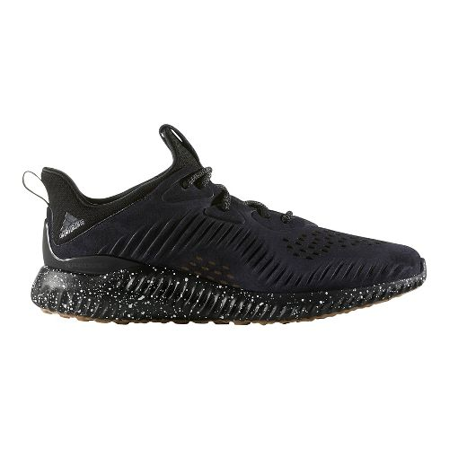 Mens adidas AlphaBounce LEA Running Shoe - Black 8