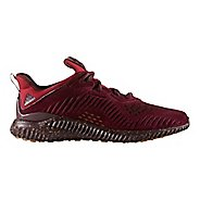 Mens adidas AlphaBounce LEA Running Shoe - Maroon 9.5