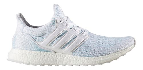 Mens adidas Ultra Boost Parley Running Shoe - Ice Blue 9