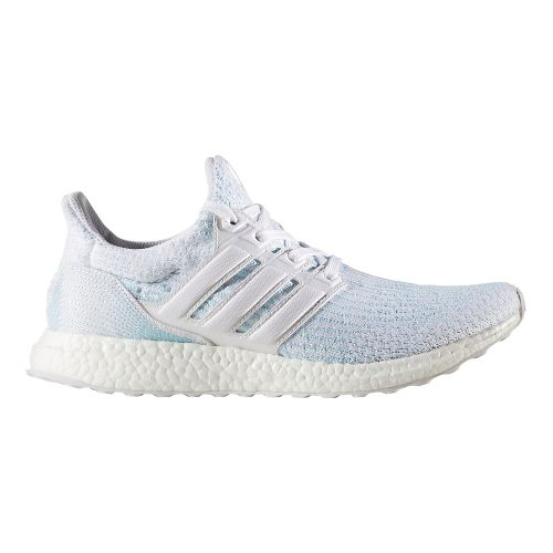 Mens adidas Ultra Boost Parley Running Shoe - Ice Blue 11.5