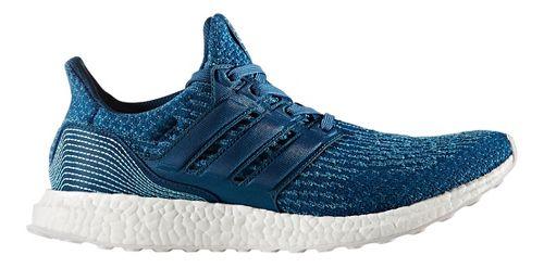 Mens adidas Ultra Boost Parley Running Shoe - Blue 8.5