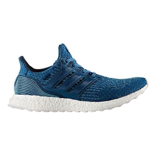 Mens adidas Ultra Boost Parley Running Shoe - Blue 10