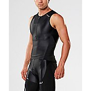 Mens 2XU X-VENT Tri Singlet Sleeveless & Tank Tops Technical Tops